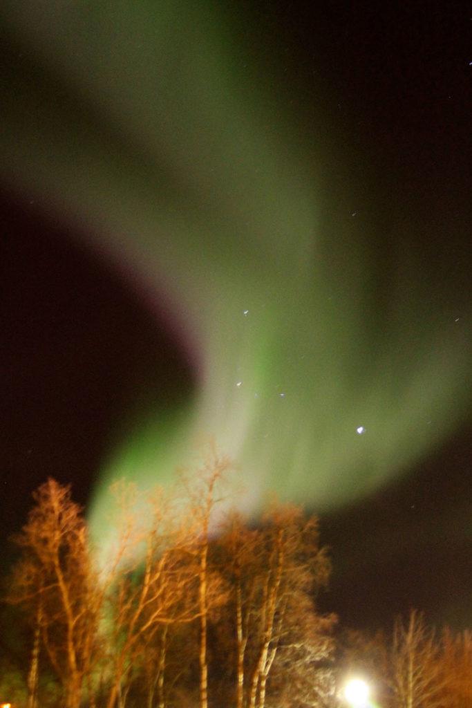 Nordlichter in Kiruna