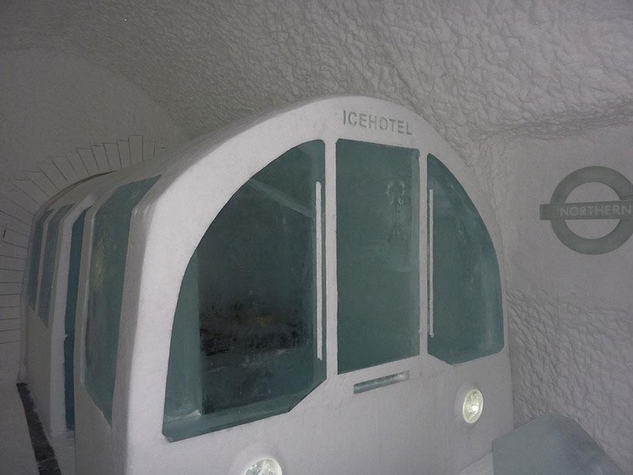 Suite im Eishotel