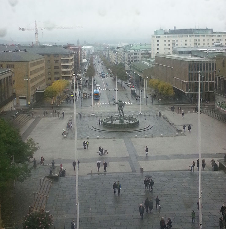 Göteborg bei Regen