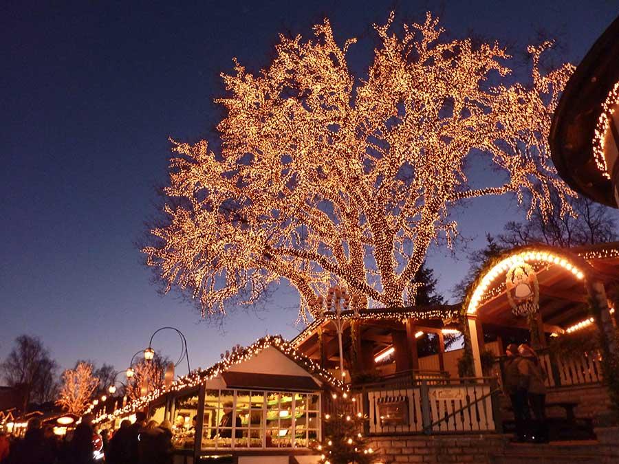Jul på Liseberg